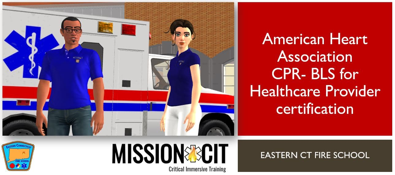 AHA | BLS-CPR for Healthcare Providers | ECFS