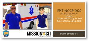 EMT NCCP 2020 Recertification Course | ECFS | 27-Jun-2020 thru 18-Jul-2020