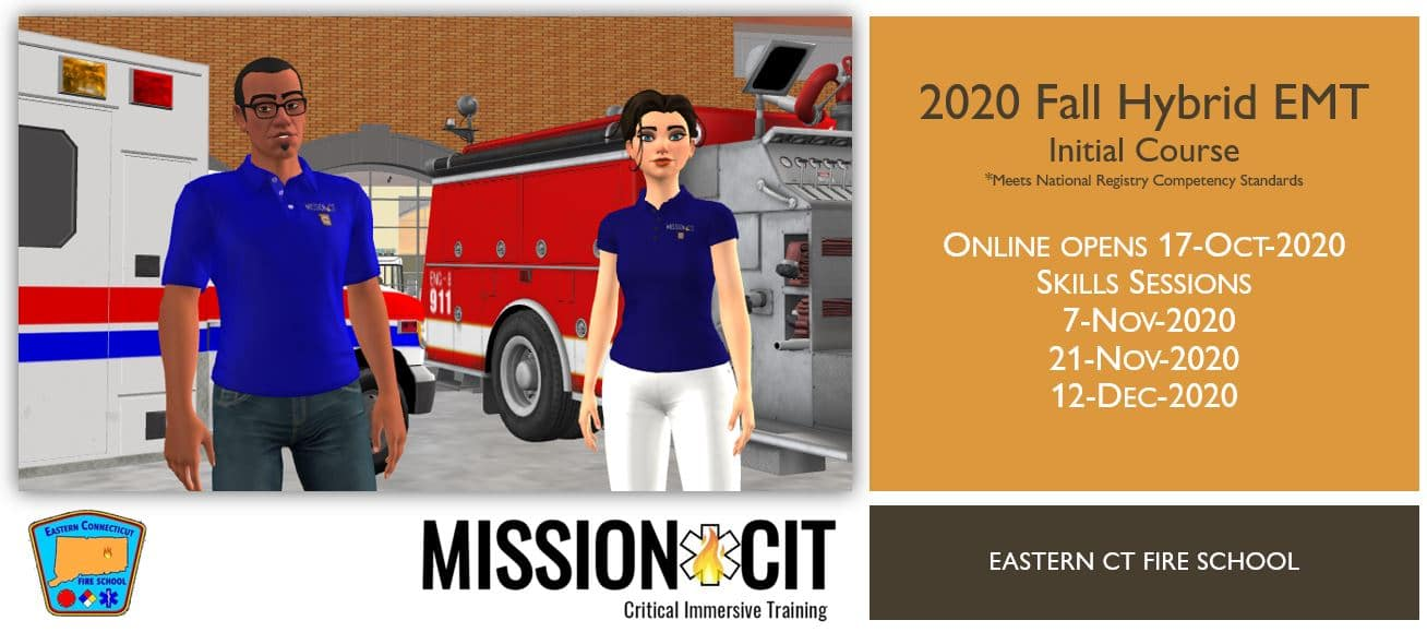 2020 Fall EMT Initial Course | ECFS Session 2