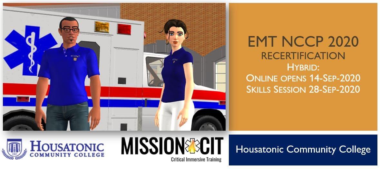 EMT NCCP 2020 Recertification Course | HCC | 14-Sep-2020