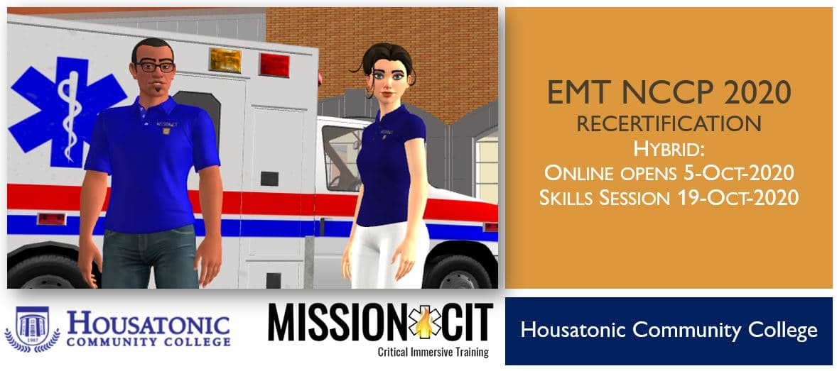 EMT NCCP 2020 Recertification Course | HCC | 5-Oct-2020