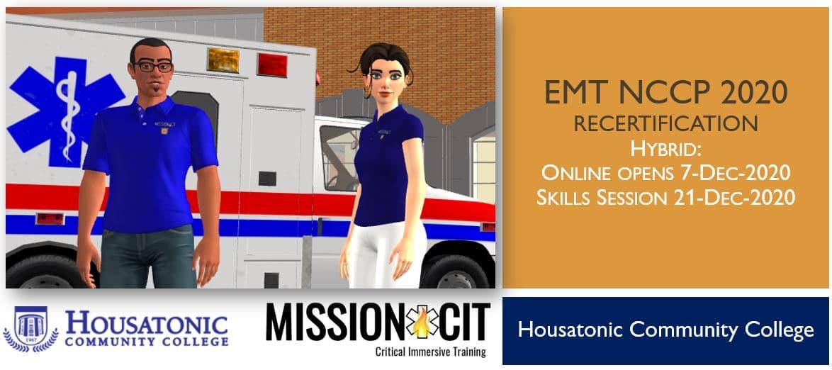 EMT NCCP 2020 Recertification Course   HCC   7-Dec-2020