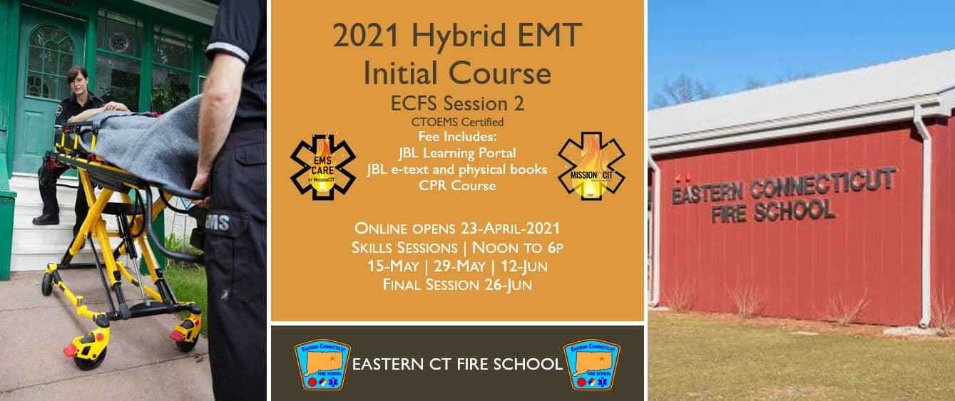 2021 Spring EMT Initial Course | ECFS Session 2