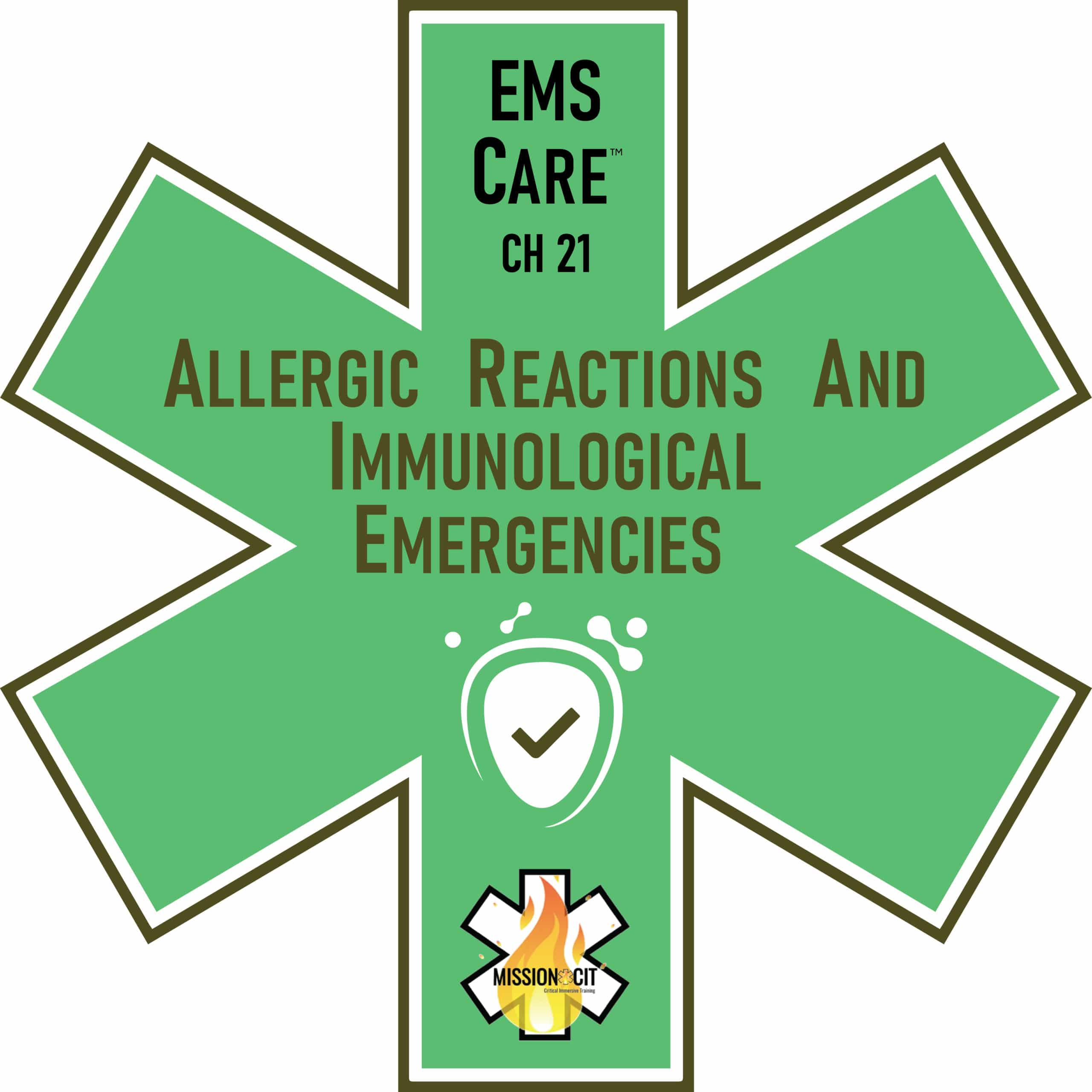 EMS Care Chapter 21 | Allergic Reactions & Immunological