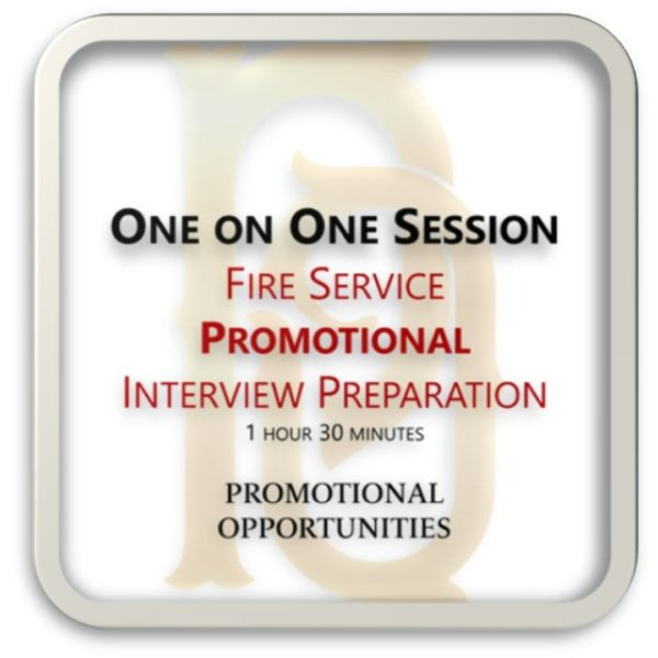 One on One | Promotional Interview Preparation