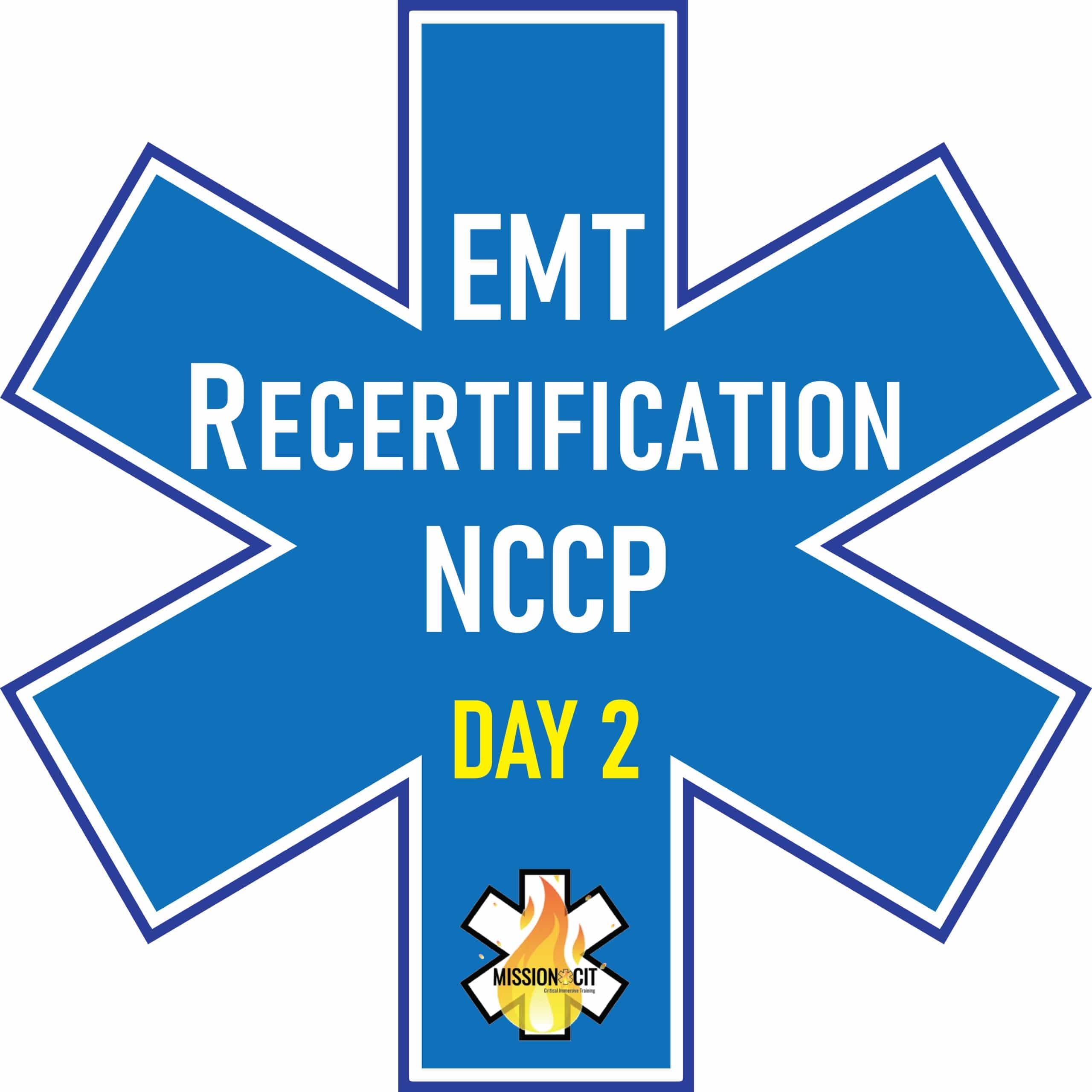 EMT Recertification | NCCP | CTOEMS | NREMT
