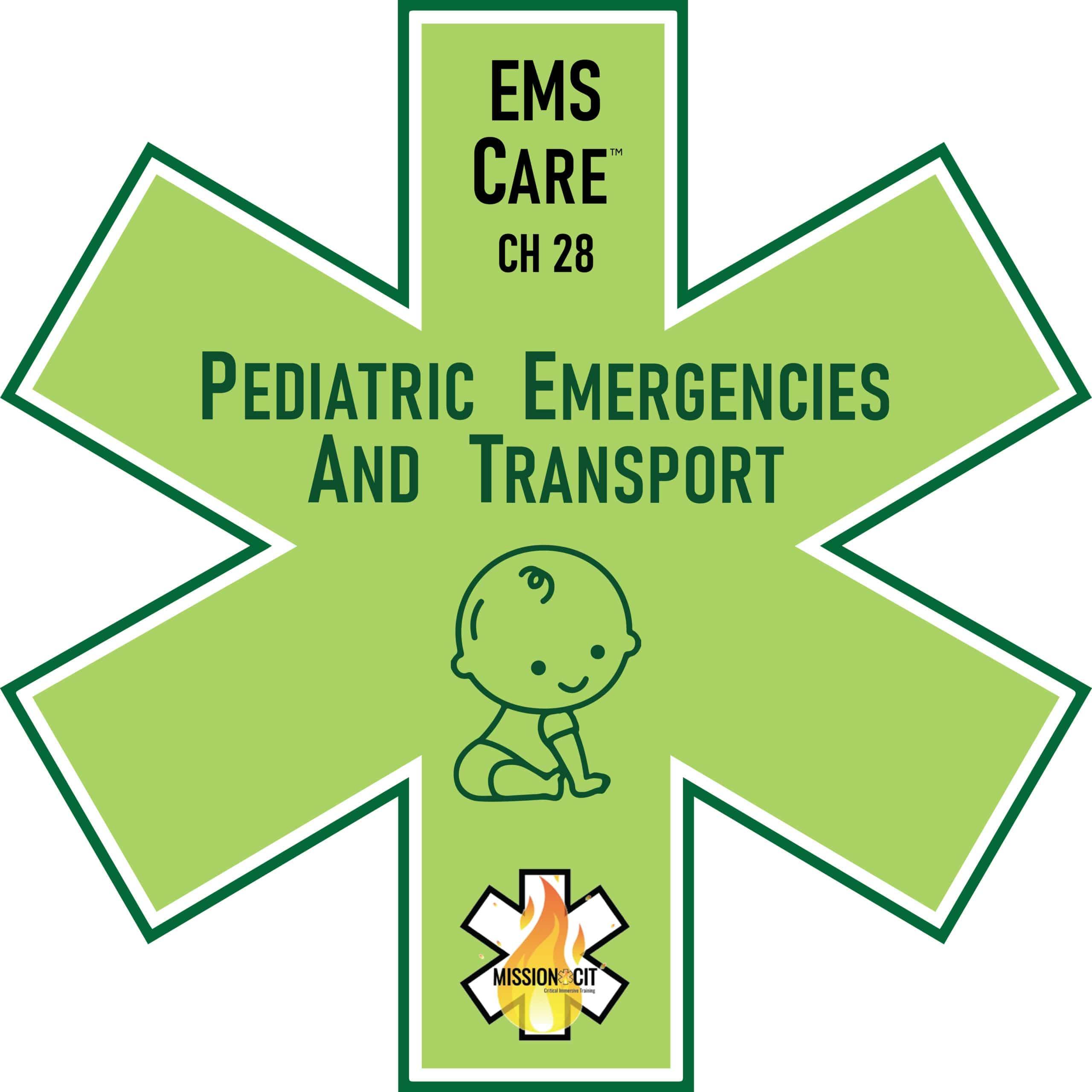 EMS Care Chapter 28 | Pediatric Emergencies EMT | Pediatric Transport | Pediatric Airway Differences | Pediatric Respiratory System