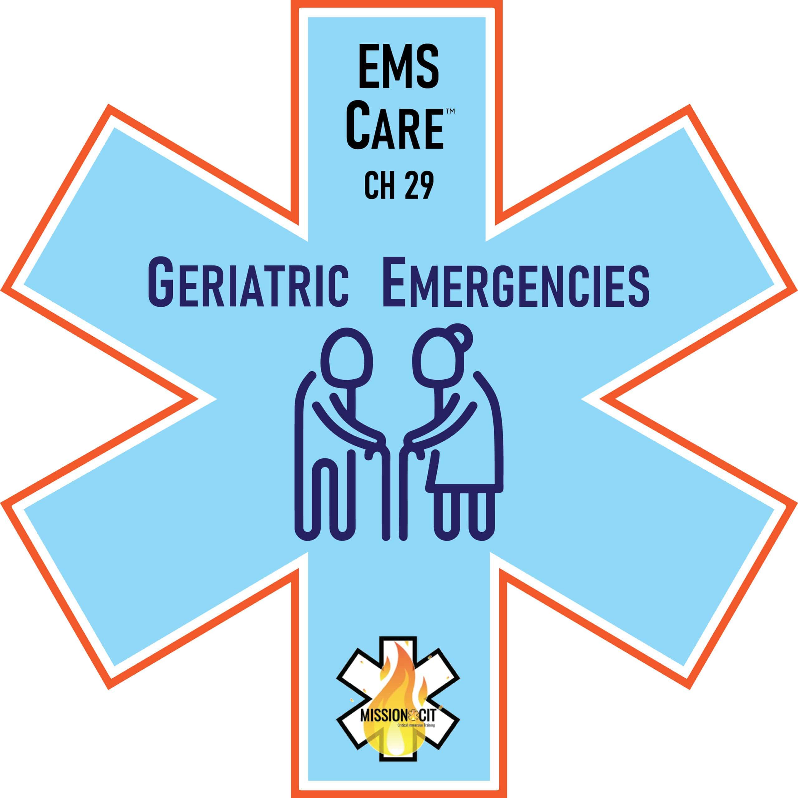 EMS Care Chapter 29 | Geriatric Emergencies