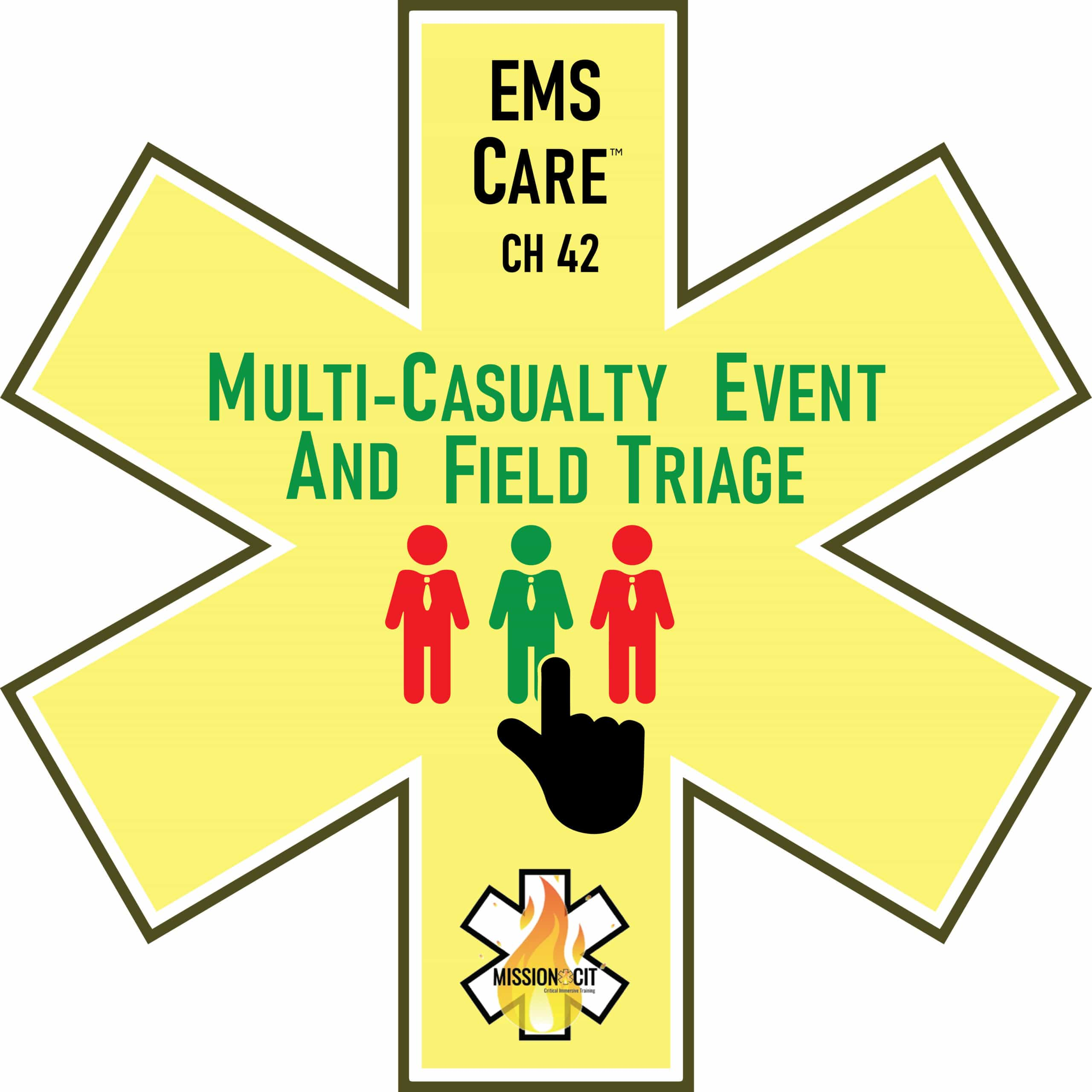 EMS Care Chapter 42 | Multi-Casualty Event and Field Triage