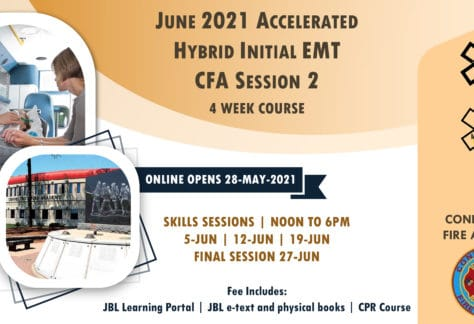 2021 Summer EMT Accelerated Initial Course | CFA Session 1