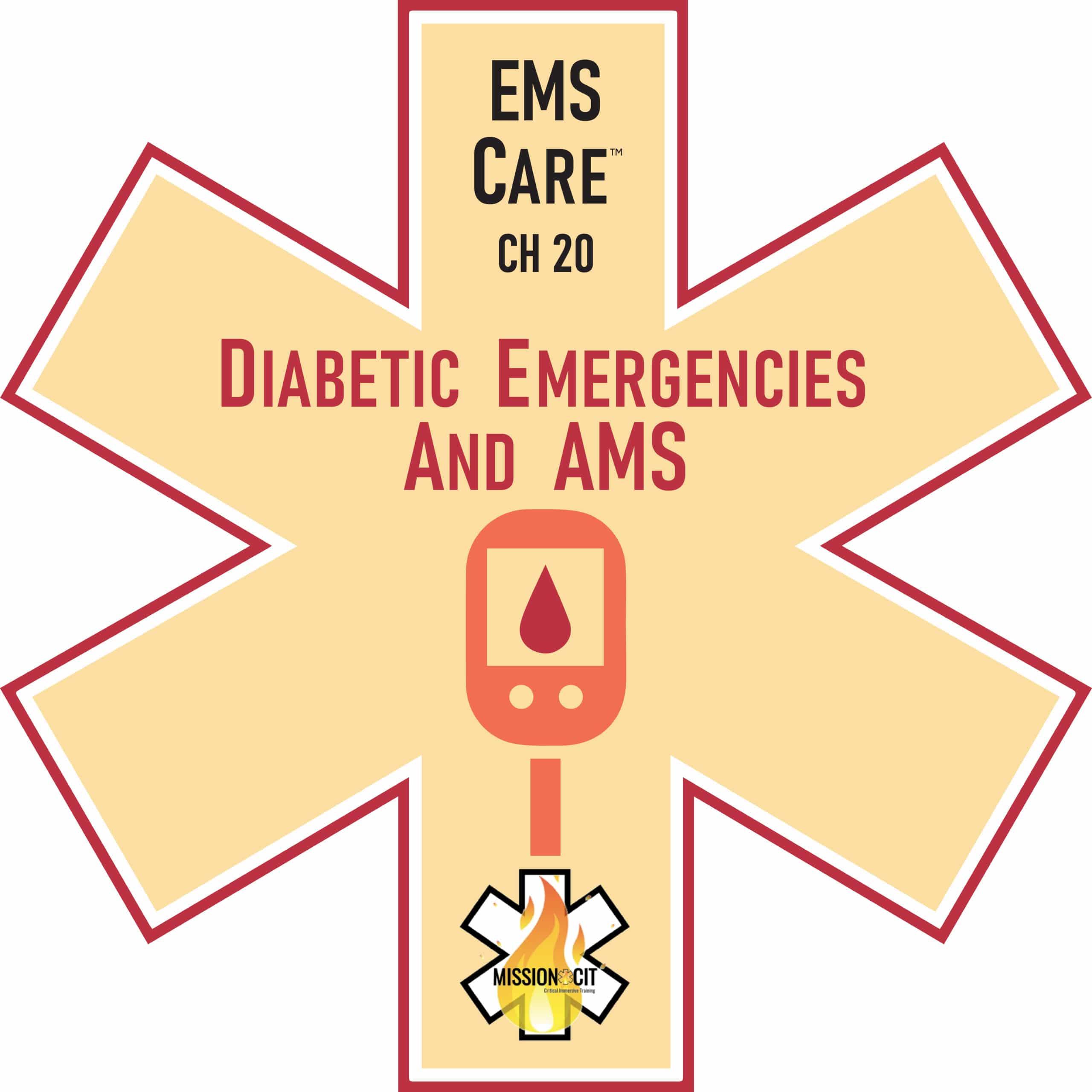 EMT Diabetic Emergencies Scenarios | Altered Mental Status | Diabetic emergency treatment | EMT treatment for hyperglycemia | hypoglycemia