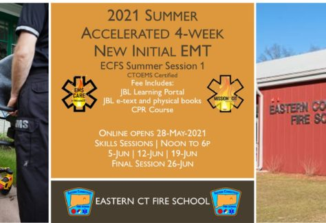 2021 Summer EMT Accelerated Initial Course | ECFS Session 1