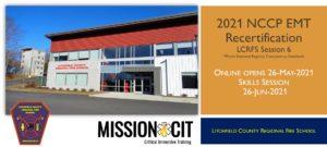 EMT NCCP 2021 Recertification Course   LCRFS Session 6
