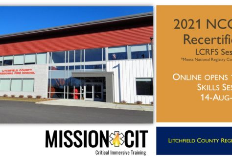 EMT NCCP 2021 Recertification Course | LCRFS Session 8 | Hybrid 5 Day Course | CT EMT classes | EMT Recertification CT | National Registry