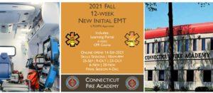 2021 Fall EMT Initial Course | CFA Session 5 | 12 week | emt course near me | emt class ct | emt courses in ct | ctoems course