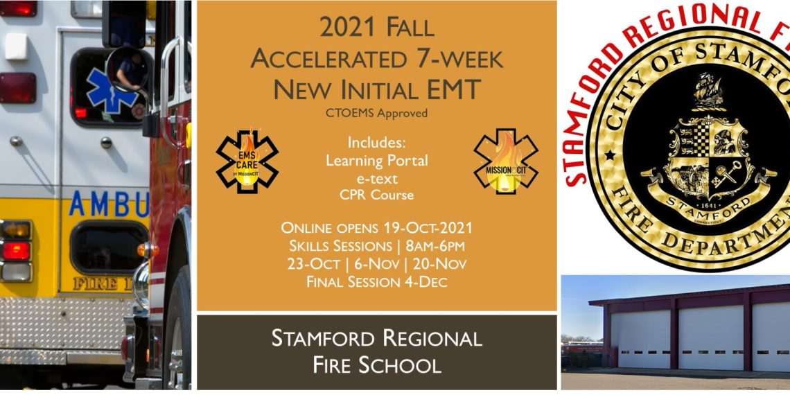 2021 Fall EMT Initial Course   Stamford Session 6   7 Week